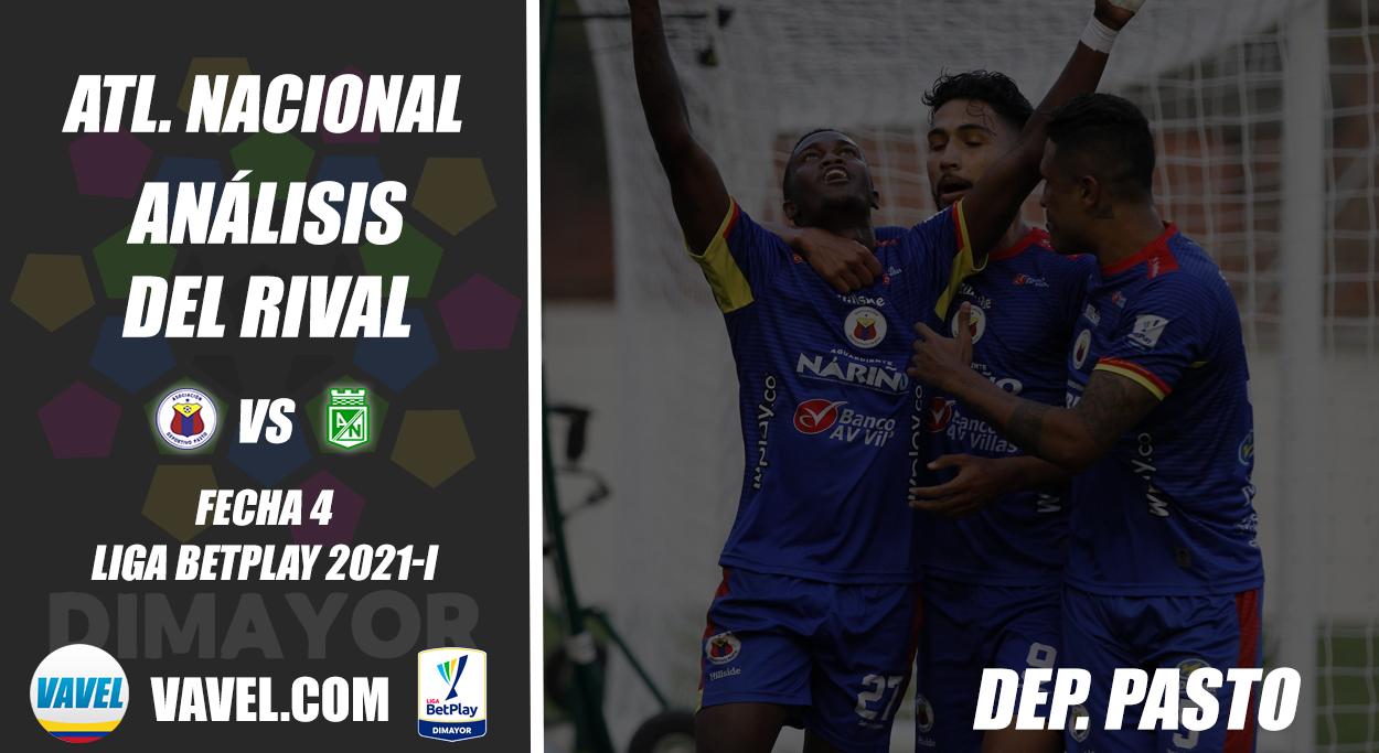 Atlético Nacional, análisis del rival: Deportivo Pasto (Fecha 4, Liga BetPlay 2021-I)