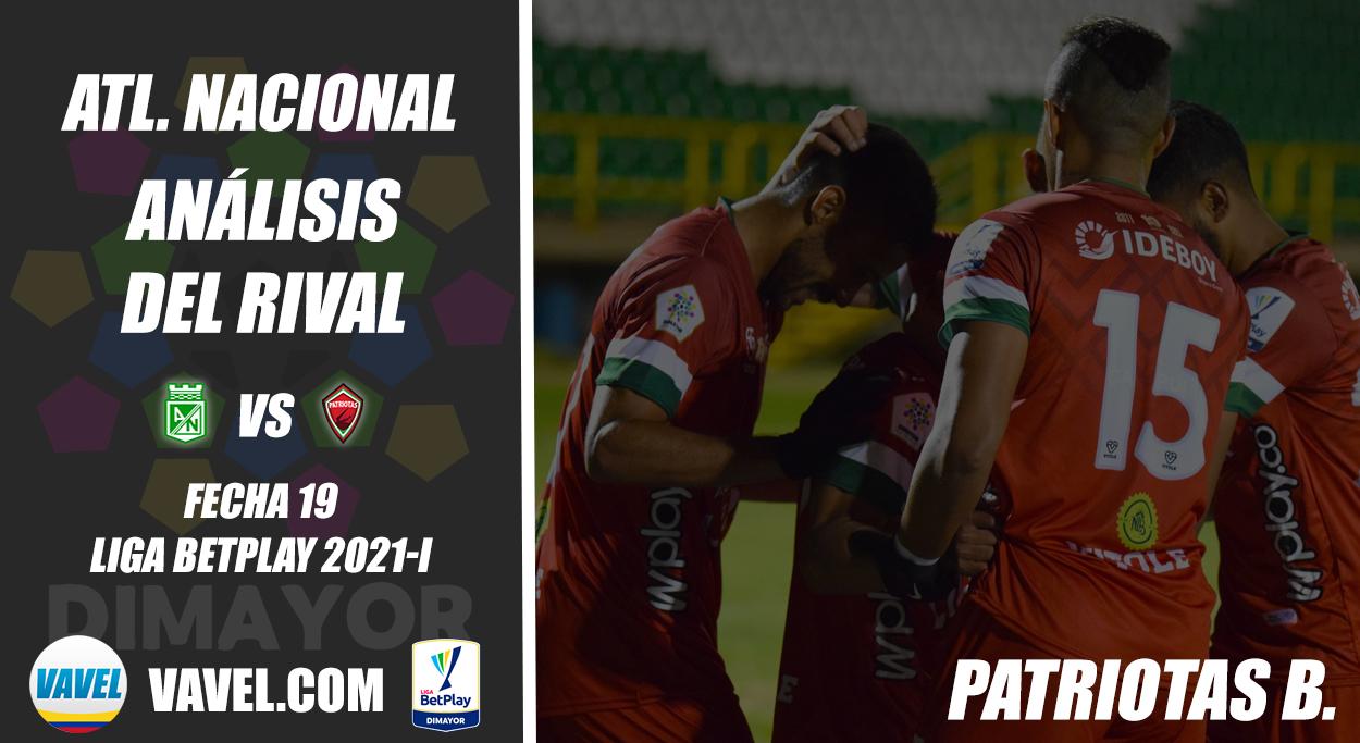 Atlético Nacional, análisis del rival: Patriotas Boyacá (Fecha 19, Liga 2021-I)