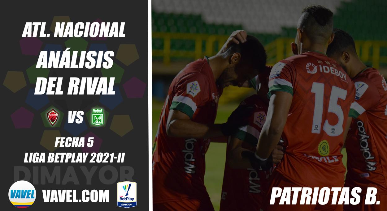 Atlético Nacional, análisis del rival: Patriotas Boyacá (Fecha 5, Liga 2021-II)