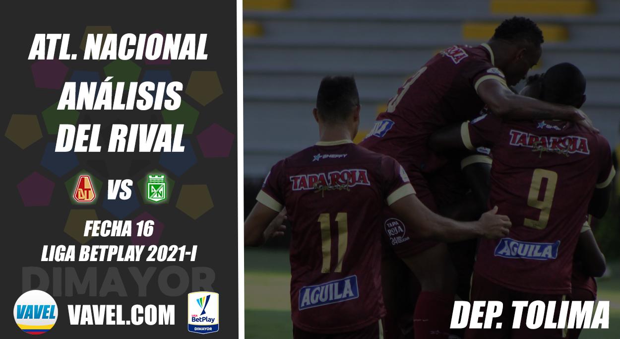 Atlético Nacional, análisis del rival: Deportes Tolima (Fecha 16, Liga 2021)
