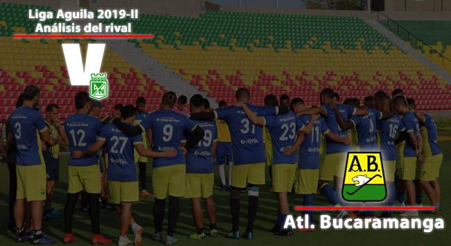 Atlético Nacional, análisis del rival: Atlético Bucaramanga