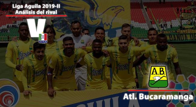 Once Caldas, análisis del rival: Atlético Bucaramanga