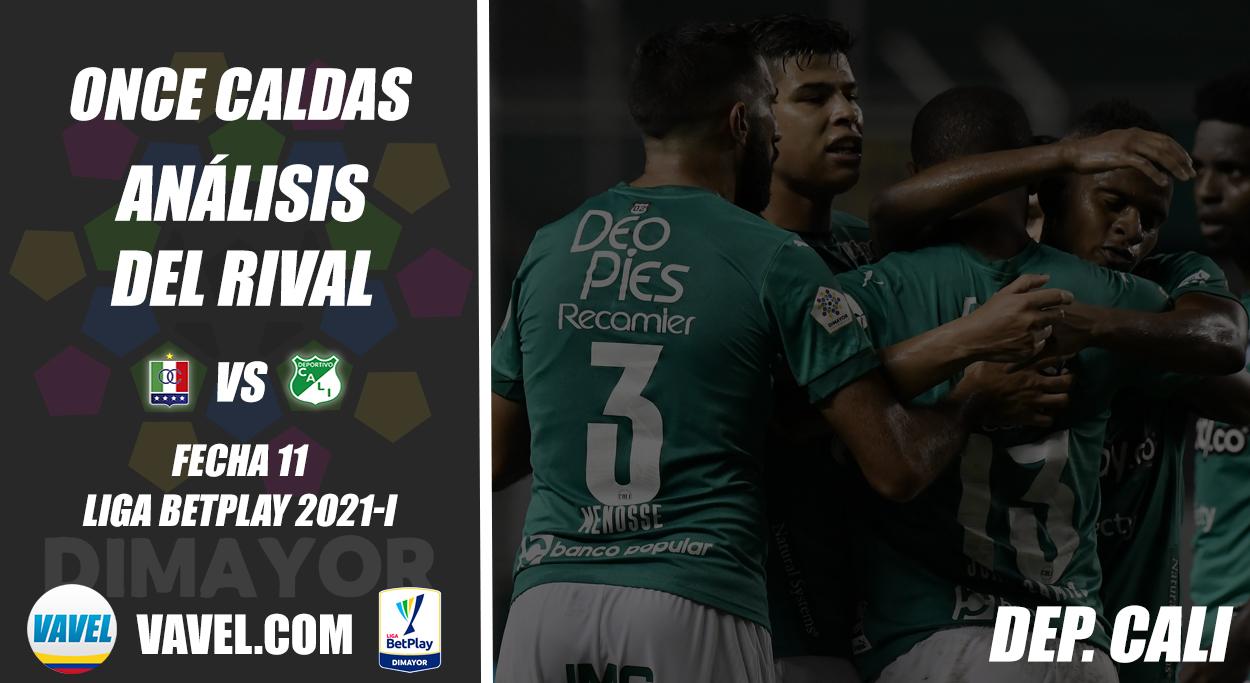 Once Caldas, análisis del rival: Deportivo Cali (Fecha 11, Liga 2021-I)