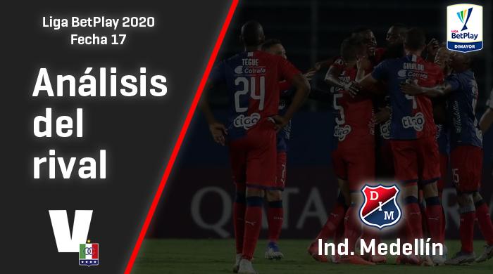 Once Caldas, análisis del rival: Independiente Medellín (Fecha 17, Liga 2020)