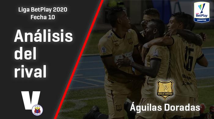 Deportivo Pasto, análisis del rival: Águilas Doradas (Fecha 10, Liga 2020)