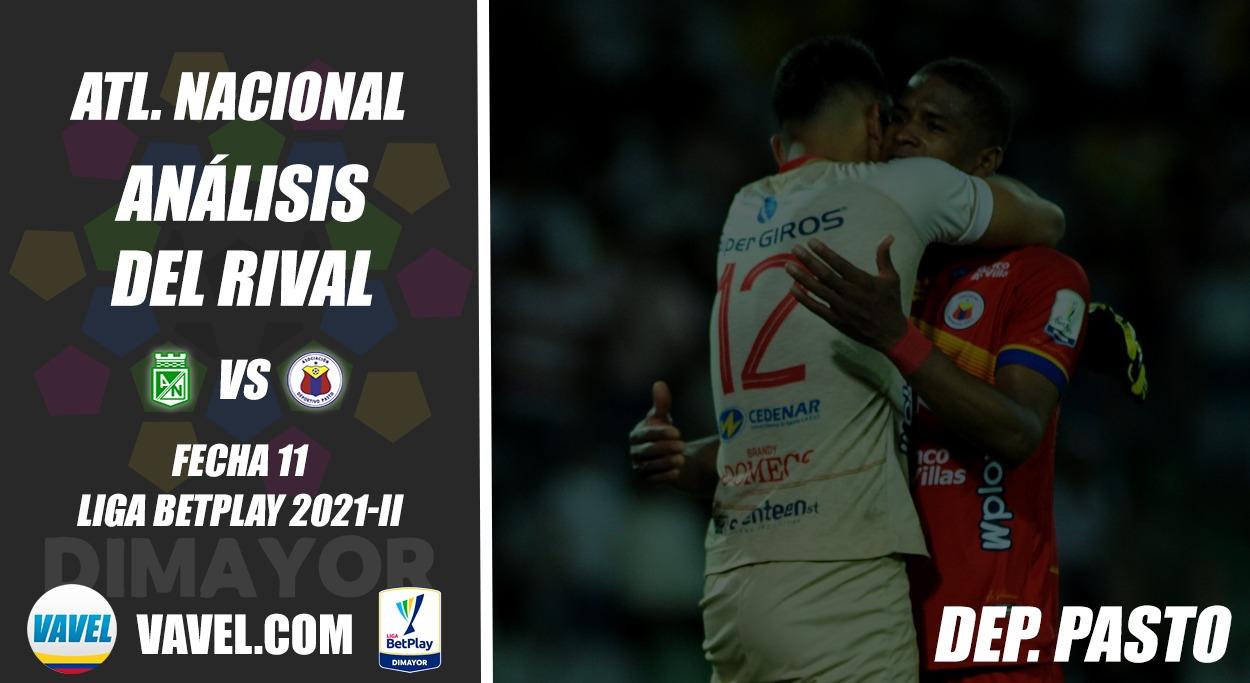 Atlético Nacional, análisis del rival: Deportivo Pasto (Fecha 11, Liga 2021-II)