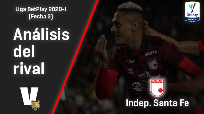 Rionegro Águilas, análisis de rival: Independiente Santa Fe