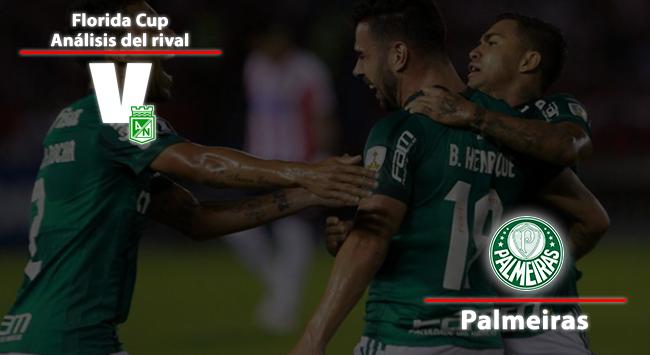 Atlético Nacional, análisis del rival: SE Palmeiras