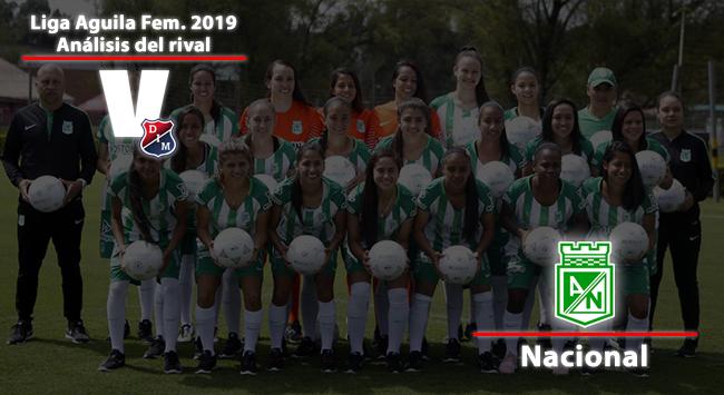 Independiente Medellín, análisis del rival: Atlético Nacional Femenino
