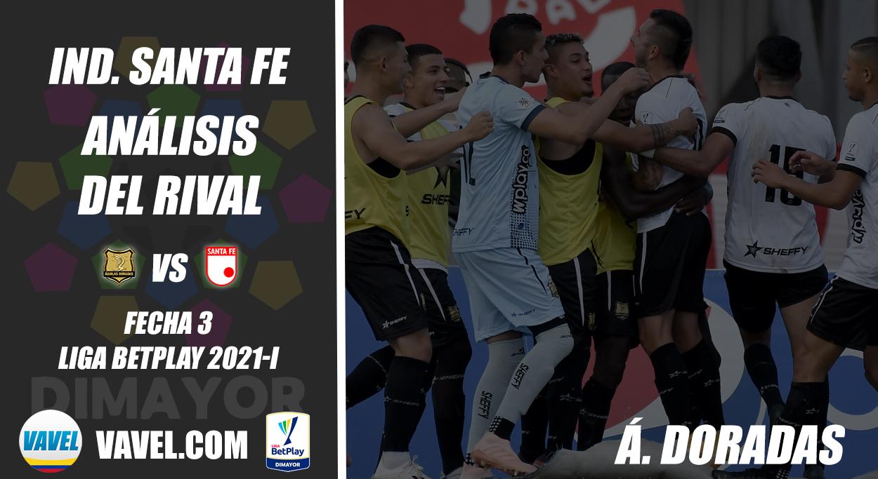 Independiente Santa Fe, análisis del rival: Águilas Doradas (Fecha 3, Liga 2021-I)