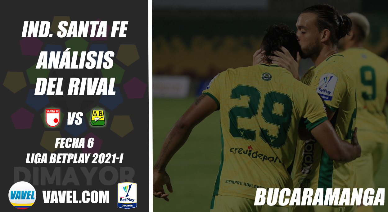 Independiente Santa Fe, análisis del rival: Atlético Bucaramanga (Fecha 6, Liga BetPlay 2021-I)