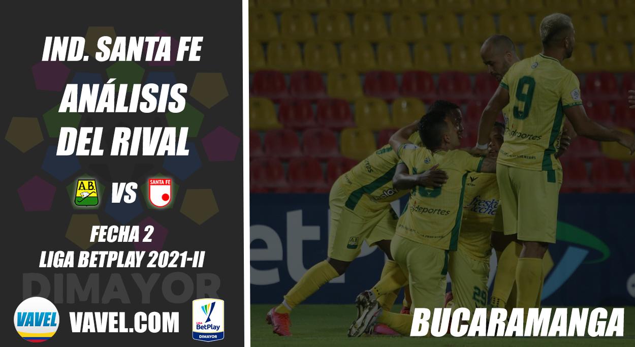 Independiente Santa Fe, análisis del rival: Atlético Bucaramanga (Fecha 2, Liga 2021-II)
