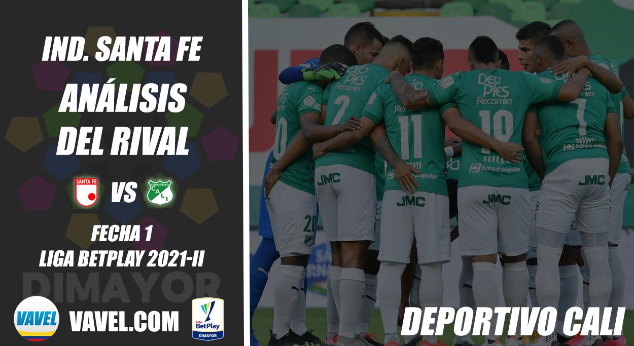 Independiente Santa Fe, análisis del rival: Deportivo Cali (Fecha 1, Liga 2021-II)