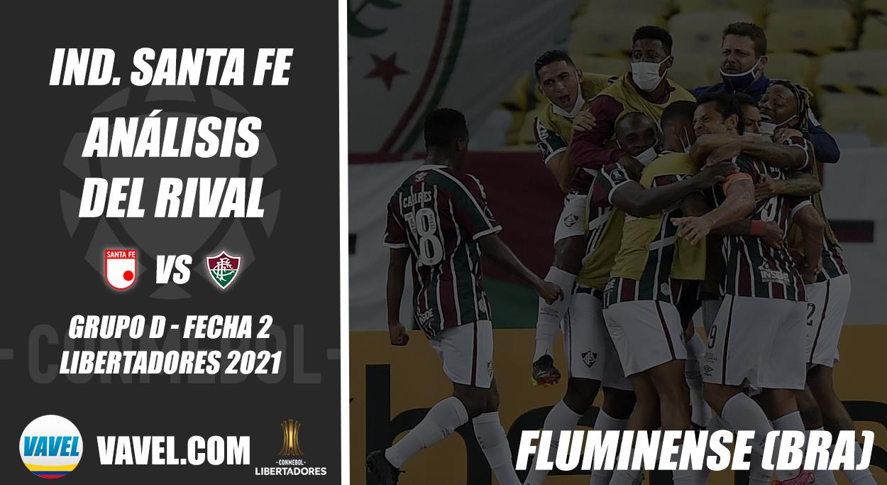Independiente Santa Fe, análisis del rival: Fluminense (Fecha 2 - Grupo D, Libertadores 2021)
