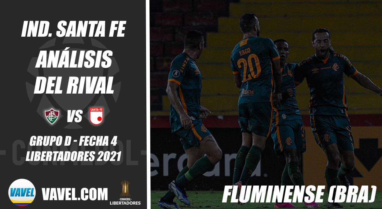 Independiente Santa Fe, análisis del rival: Fluminense (Fecha 4 - Grupo D, Libertadores 2021)