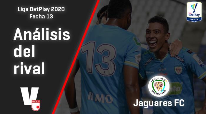 Independiente Santa Fe, análisis del rival: Jaguares (Fecha 13, Liga 2020)