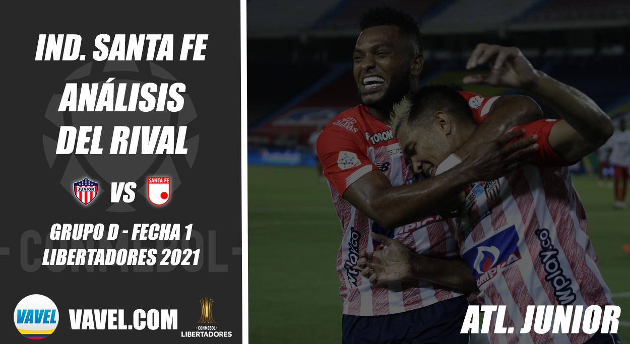 Independiente Santa Fe, análisis del rival: Junior de Barranquilla (Fecha 1 - Grupo D, Libertadores 2021)