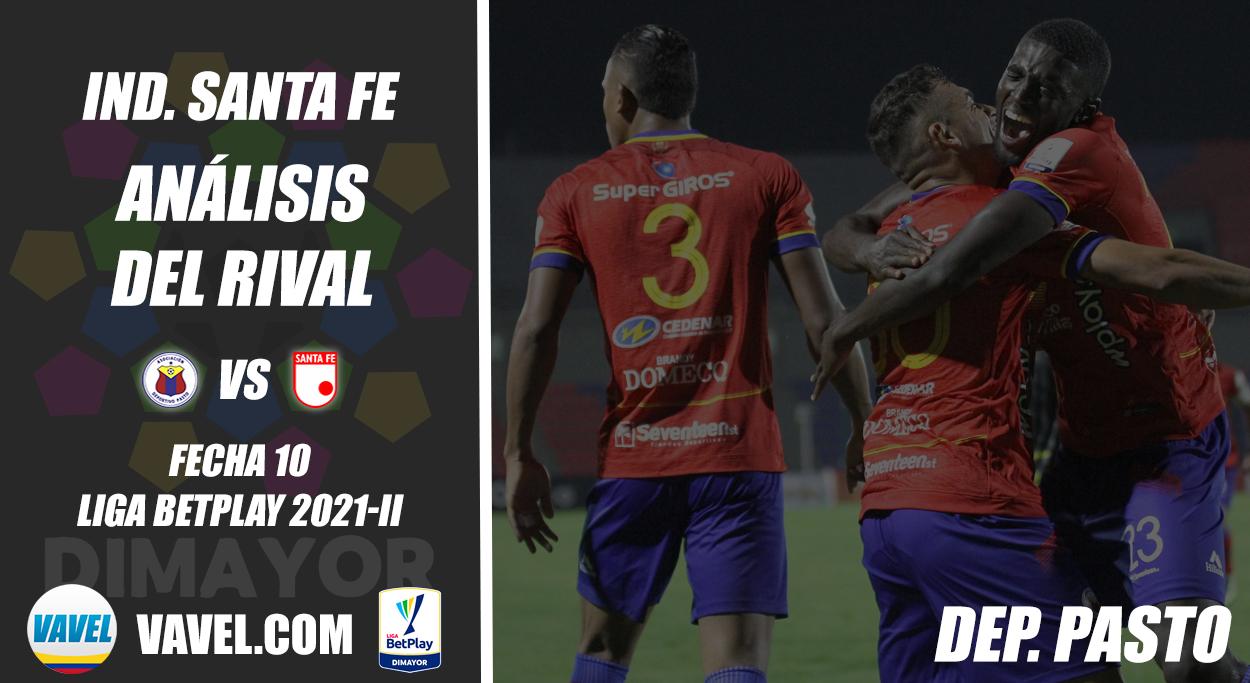 Independiente Santa Fe, análisis del rival: Deportivo Pasto (Fecha 10, Liga 2021-ll)