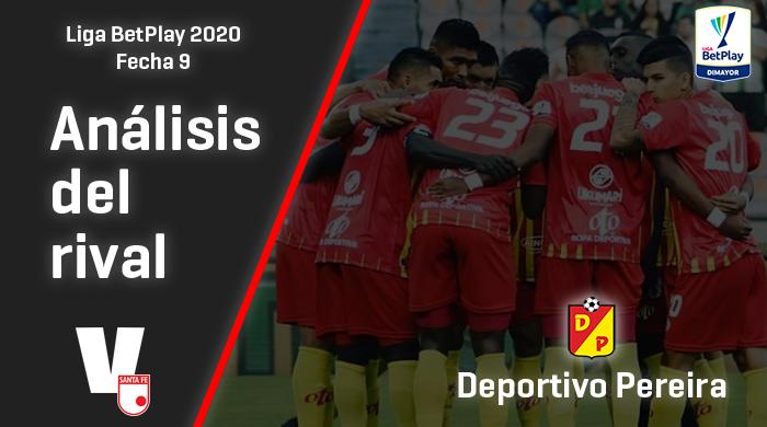Independiente Santa Fe, análisis del rival: Deportivo Pereira (Fecha 9, Liga 2020)