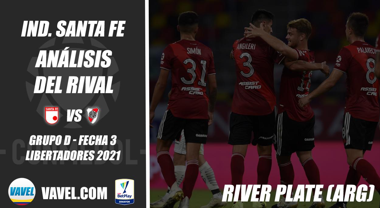 Independiente Santa Fe, análisis del rival: River Plate (Fecha 3 - Grupo D, Libertadores 2021)