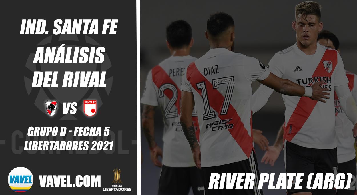 Independiente Santa Fe, análisis del rival: River Plate (Fecha 5 - Grupo D, Libertadores 2021)