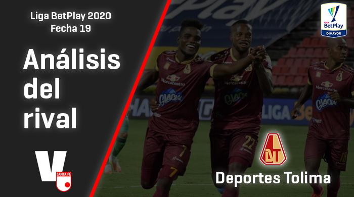 Independiente Santa Fe, análisis del rival: Deportes Tolima (Fecha 19, Liga 2020)