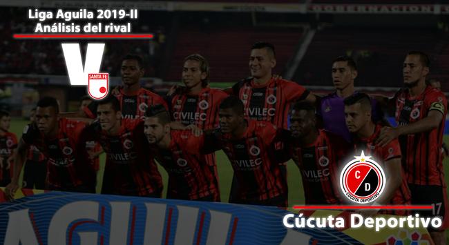 Independiente Santa Fe, análisis del rival: Cúcuta Deportivo