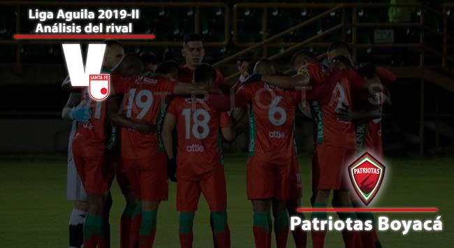 Independiente Santa Fe, análisis del rival: Patriotas Boyacá