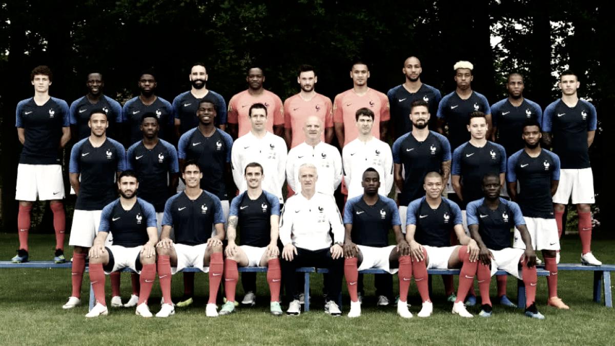 Análisis táctico de Francia 2018: fortaleza física en el centro, variables de ataque, dinámica individual y juventud