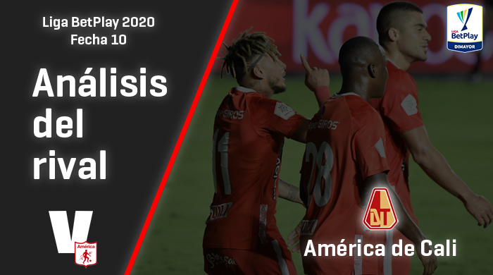Deportes Tolima, análisis del rival: América de Cali (Fecha 10, Liga 2020)