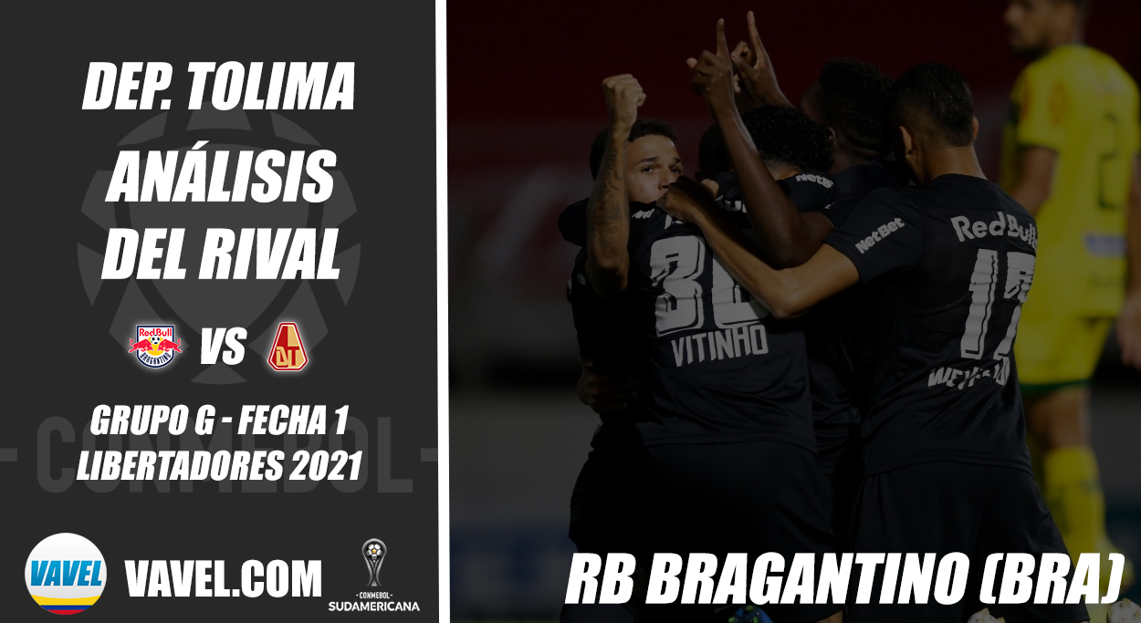 Deportes Tolima, análisis del rival: Red Bull Bragantino (Fecha 1 - Grupo G, Sudamericana 2021)