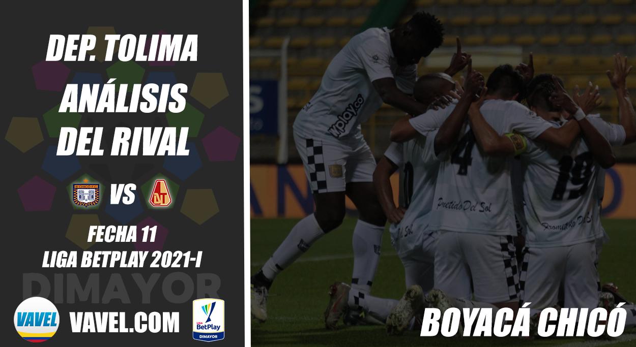 Deportes Tolima, análisis del rival: Boyacá Chicó (Fecha 11, Liga 2021-I)