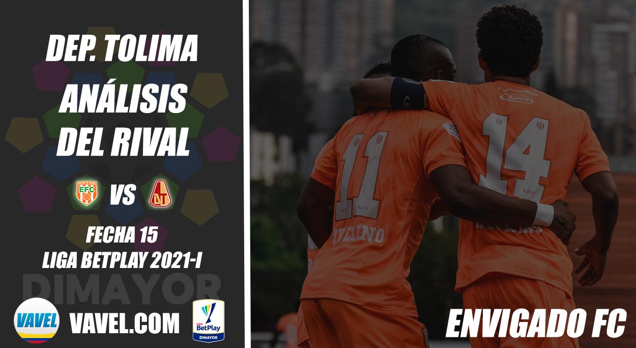 Deportes Tolima, análisis del rival: Envigado FC (Fecha 15, Liga 2021-I)