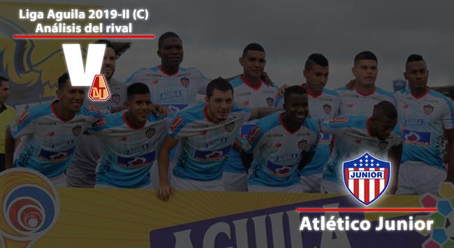 Deportes Tolima, análisis del rival: Junior de Barranquilla