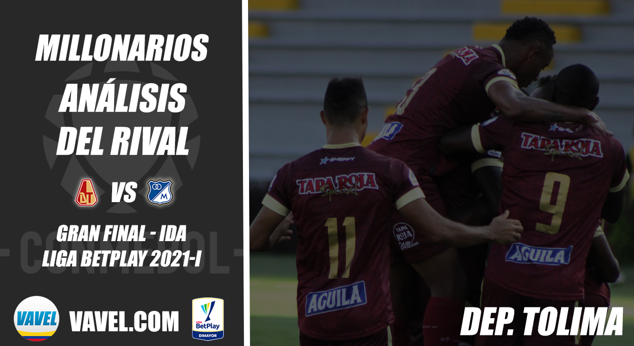 Millonarios, análisis del rival: Deportes Tolima (Final - ida, Liga 2021-I)