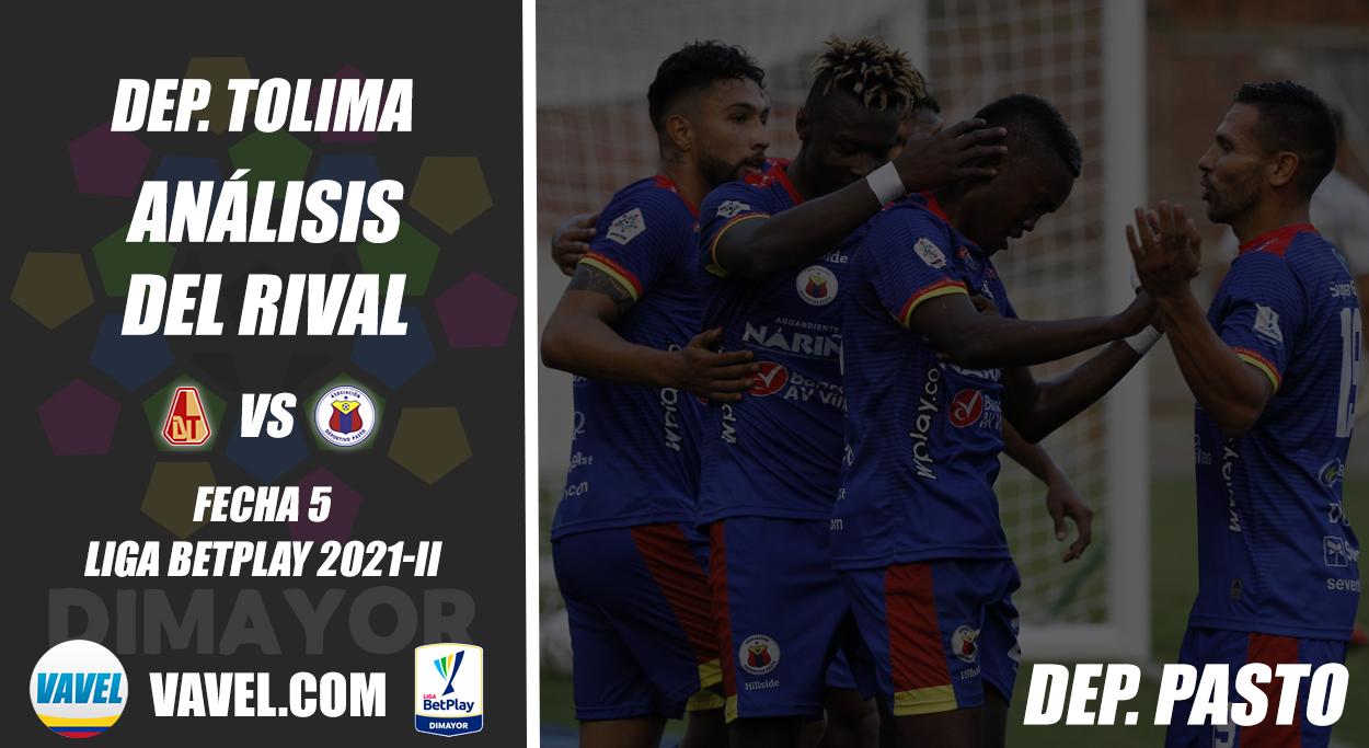 Deportes Tolima, análisis del rival: Deportivo Pasto (Fecha 5, Liga 2021-II)