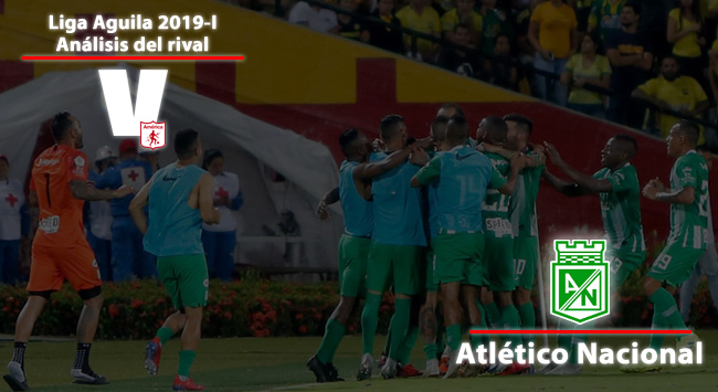 América de Cali, análisis del rival: Atlético Nacional