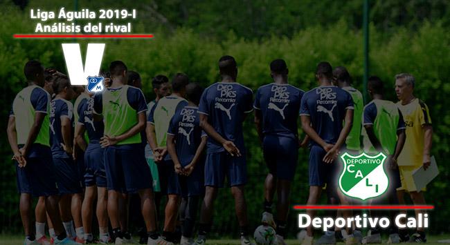 Millonarios, análisis del rival: Deportivo Cali