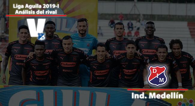 Millonarios, análisis del rival: Independiente Medellín