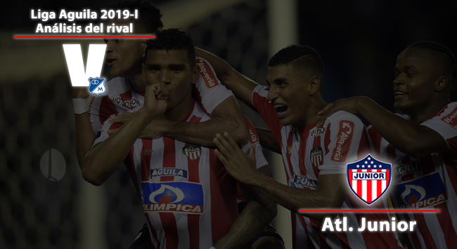 Millonarios, análisis del rival: Junior de Barranquilla
