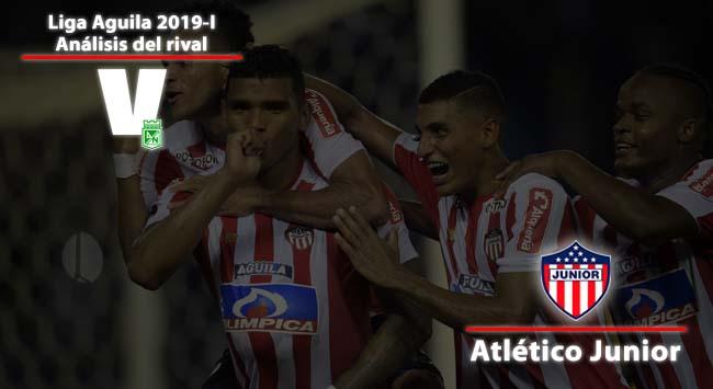 Atlético Nacional, análisis del rival: Atlético Junior