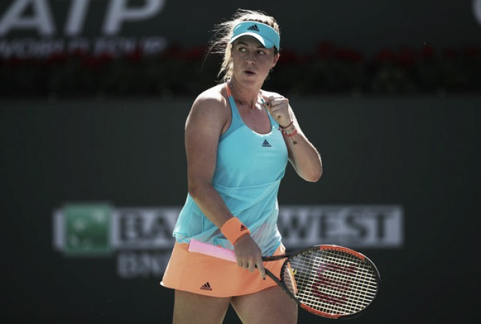 WTA Rome: Anastasia Pavlyuchenkova earns a hard-fought victory