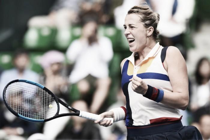 WTA Elite Trophy: Anastasia Pavlyuchenkova ousts Angelique Kerber in three sets