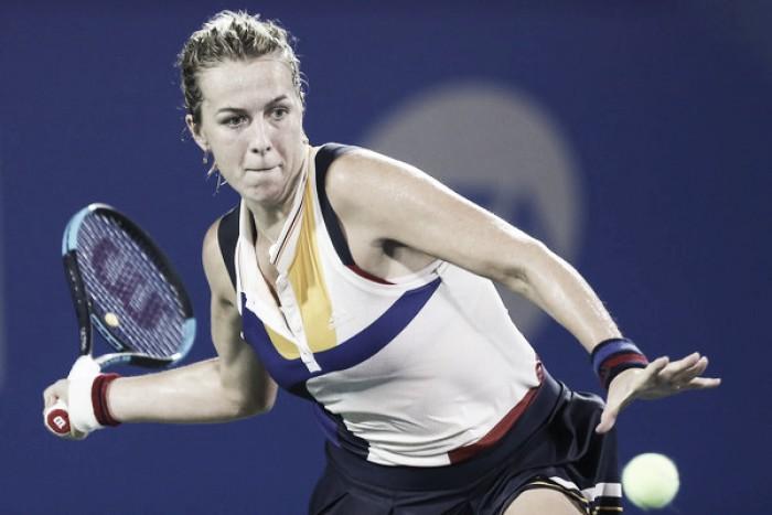WTA Beijing: Anastasia Pavlyuchenkova storms to emphatic victory over Lauren Davis