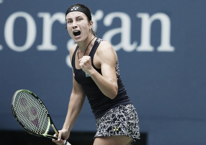 US Open: Superb Sevastova stuns Sharapova, makes second consecutive quarterfinal at Flushing Meadows