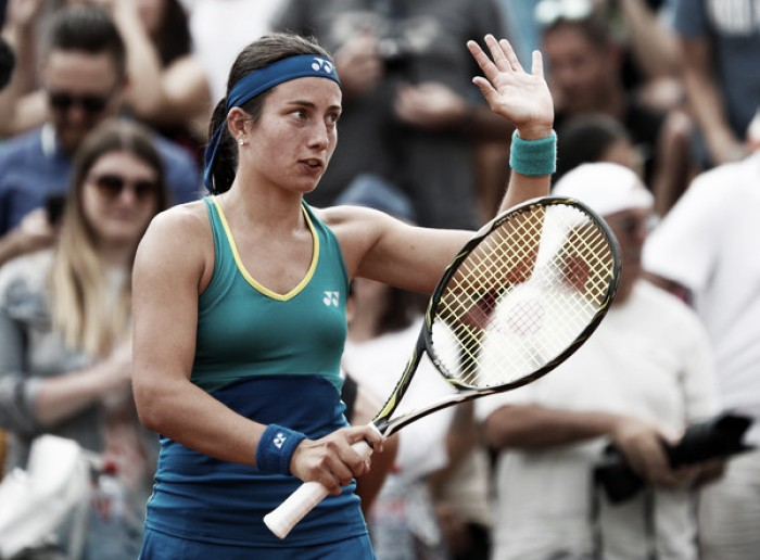 French Open: Anastasija Sevastova outclasses Eugenie Bouchard to record best performance in Paris