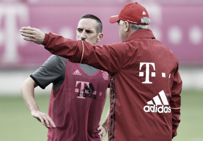 """Ancelotti duro con Ribery: """"Certi comportamenti non mi piacciono"""""""