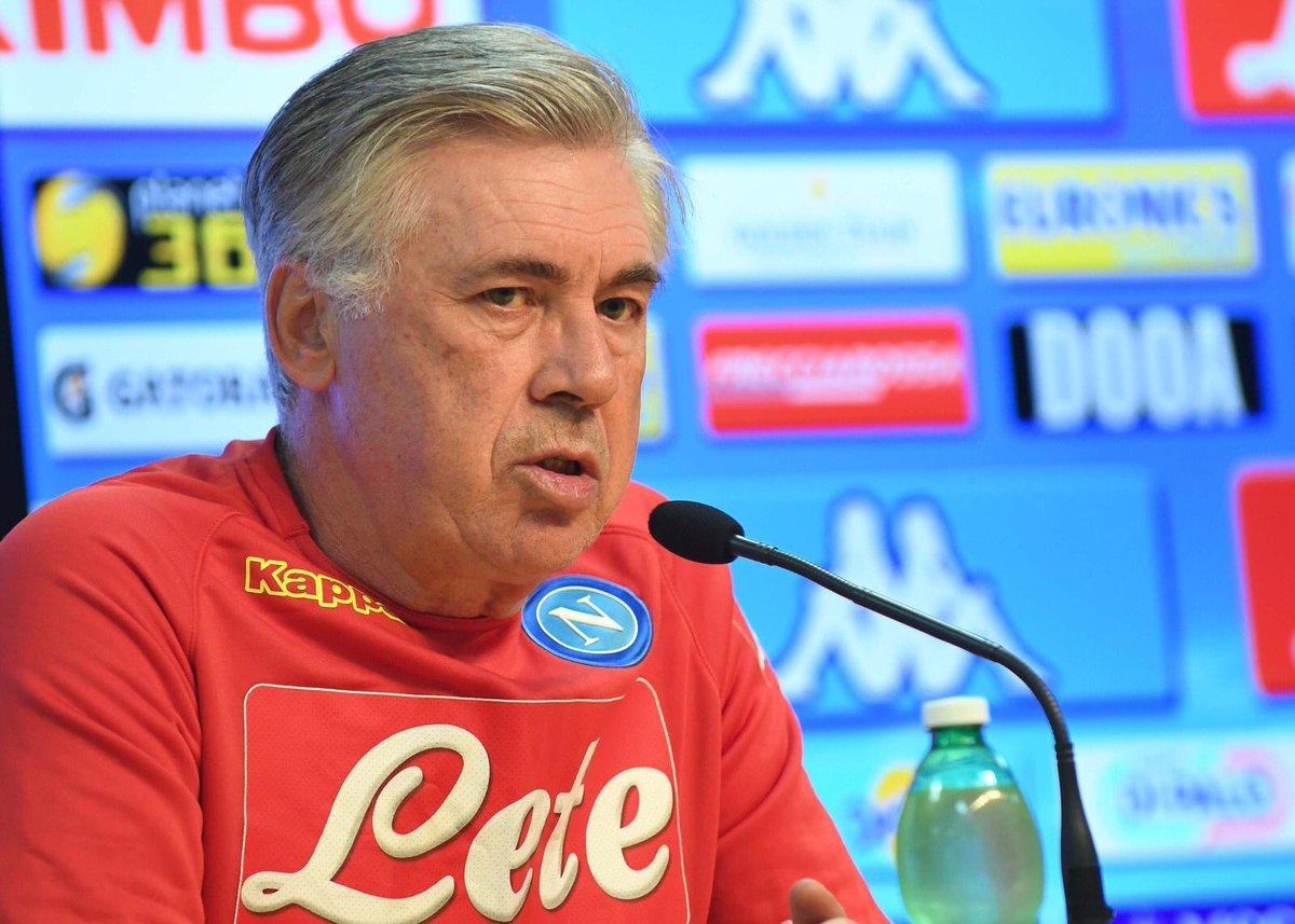 """Napoli, Ancelotti in conferenza: """"Contro il Chievo ci aspetta un'altra prova di maturità"""""""