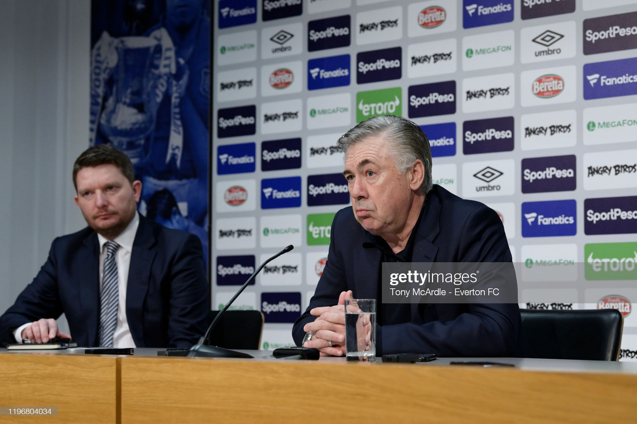 The five key quotes from Carlo Ancelotti's pre-Crystal Palace press conference