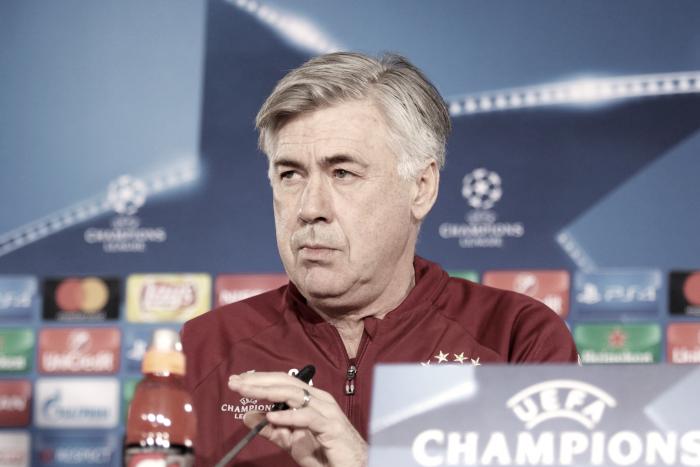 """Carlo Ancelotti: """"Es un partido muy importante para nuestra confianza"""""""
